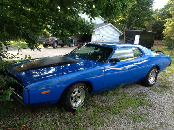 for sale 1973 dodge charger for sale on craigslist richfield ohio for b bodies only classic. Black Bedroom Furniture Sets. Home Design Ideas