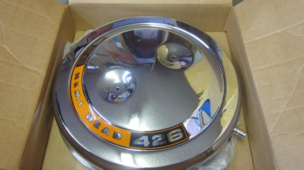 Hemi Air Cleaner : Sold hemi round air cleaner for b bodies only