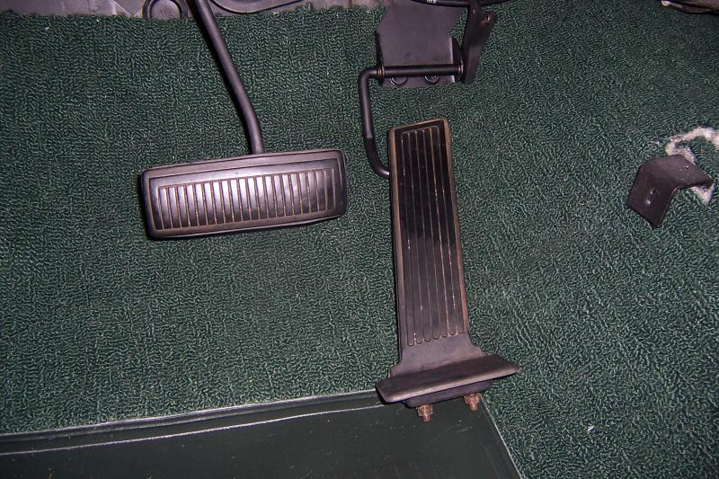 Gas Pedal Replacement On Rug 68 Gtx For B Bodies Only