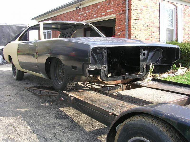 1969 Dodge Charger Project Shell! | For B Bodies Only ...