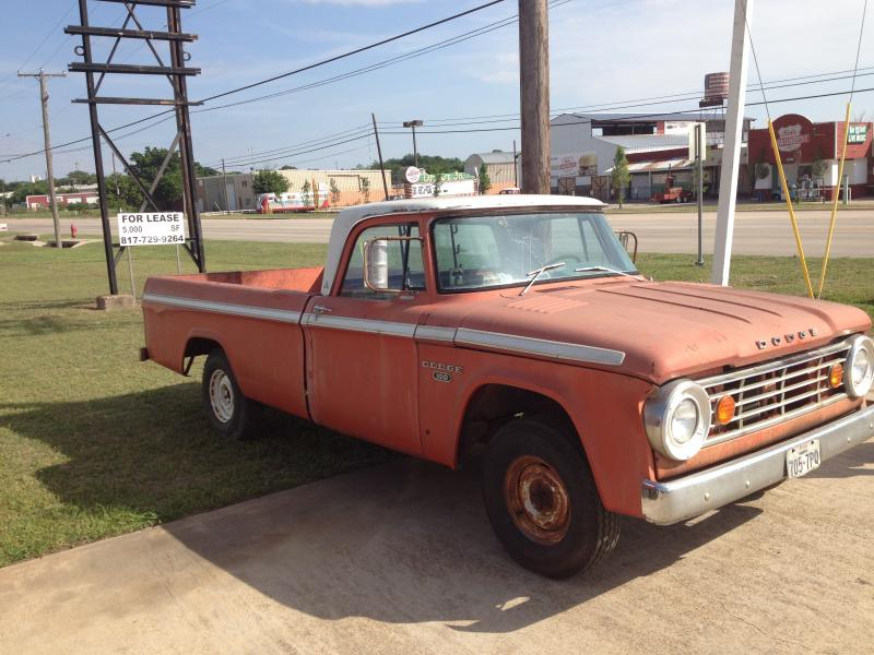 for sale 1967 dodge 100 truck for sale in north texas for b bodies only classic mopar forum. Black Bedroom Furniture Sets. Home Design Ideas