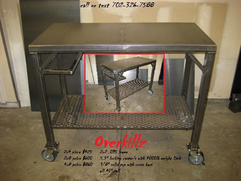 For Sale Heavy Duty Steel Work Benches Welding Tables