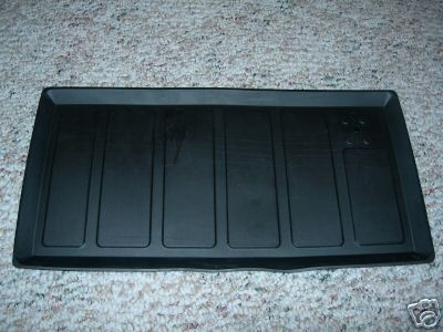 Rubber Trunk Mount Battery Tray For Max Wedge For B