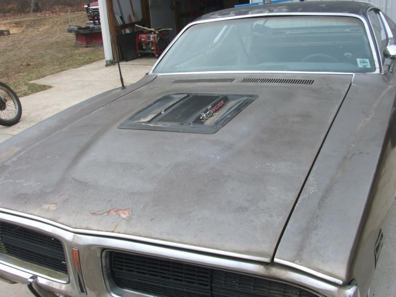 1971 Dodge Charger RT Superbee Hood For B Bodies Only