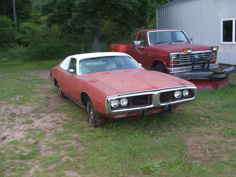for sale 1973 dodge charger project parts car for b bodies only classic mopar forum. Black Bedroom Furniture Sets. Home Design Ideas