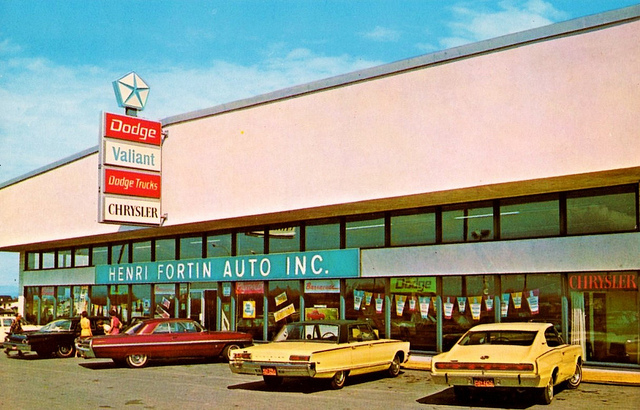 Vintage Chrysler Plymouth Dodge Dealership Pictures | For ...