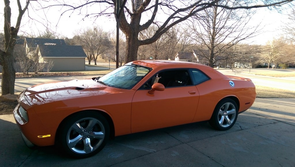 for sale 2014 dodge challenger r t header orange super track pack topeka ks for b bodies. Black Bedroom Furniture Sets. Home Design Ideas