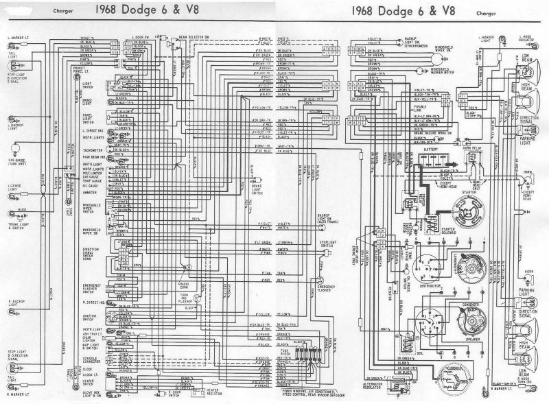 1968 charger wiring diagram for b bodies only classic mopar forum mopar wiring diagrams at n-0.co