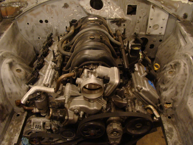 New Trans Am >> So it begins, 5.7 and Nag1 install   For B Bodies Only ...