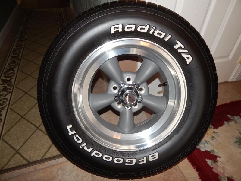 For sale 15x7 american racing wheels bf goodrich tires for American classic wheels for sale