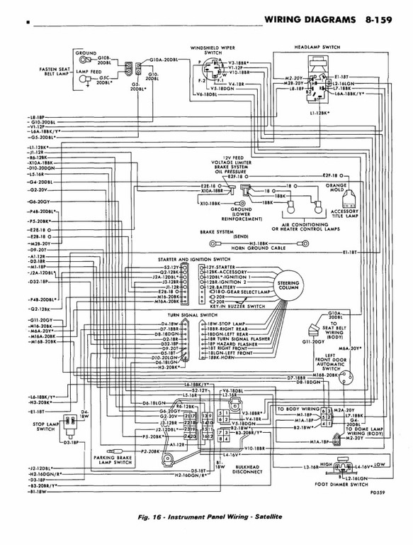 72 Standard Dash Wiring Diagram