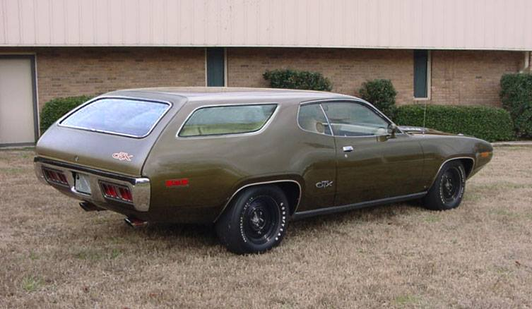 1971 Gtx 2 Door Station Wagon For B Bodies Only