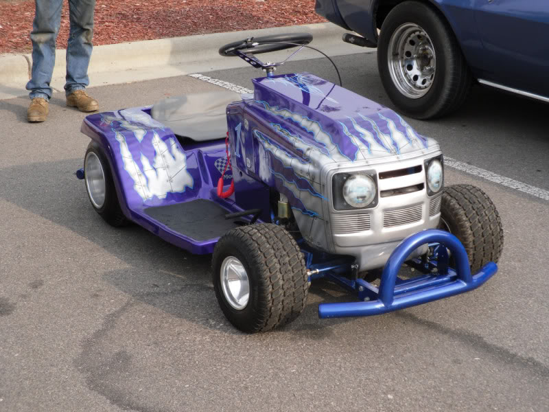 Craigslist list AD Racing lawn mower | For B Bodies Only ...