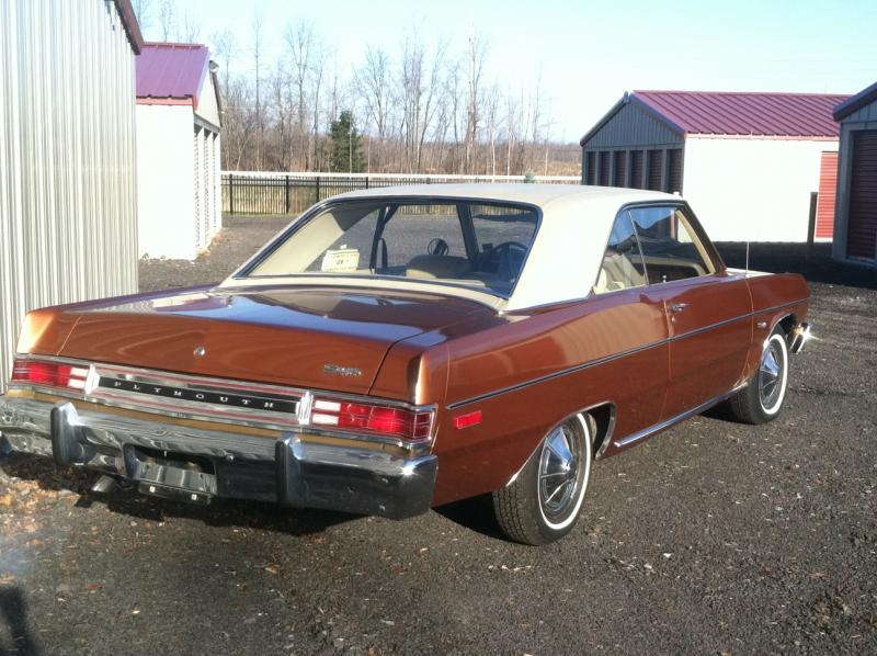Cars For Sale Rochester Ny >> FOR SALE - 1974 Plymouth Scamp 47k original miles ALL ORIGINAL SURVIVOR | For B Bodies Only ...