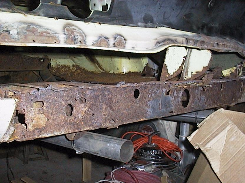 Best Way To Remove Rust From Car Chassis