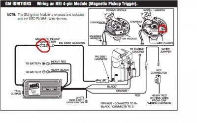 msd pro billet ignition wiring diagram mallory ignition wiring diagram pro 9000 what distributor with msd for b bodies only classic #13