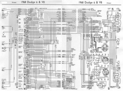 1968 charger wiring diagram for b bodies only classic. Black Bedroom Furniture Sets. Home Design Ideas