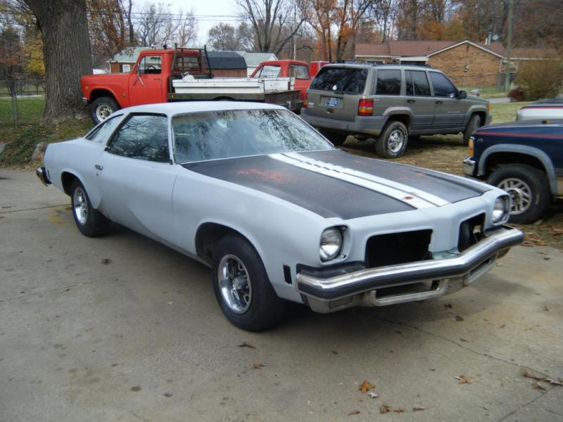 FOR SALE - 1974 olds cutlass 442 running/driving project for sale ...