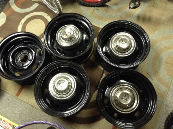 FOR SALE - NOT MINE Torque thrusts with almost new rubber ...