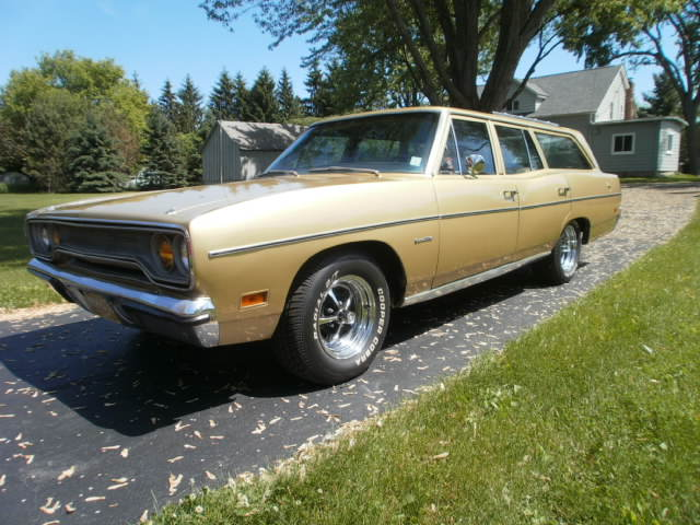 Sold 1970 Plymouth Satellite Station Wagon For B