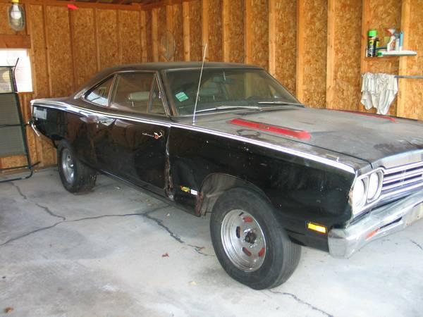 FOR SALE - Craigslist     1969 Plymouth Roadrunner $3000obo