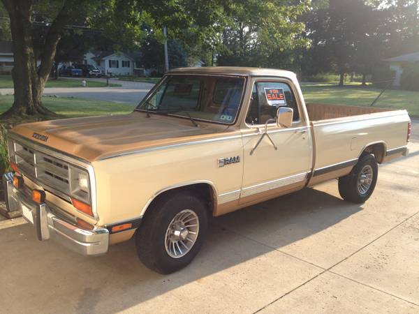 Sold 1987 Dodge Ram 1500 2wd From Texas For Sale For B