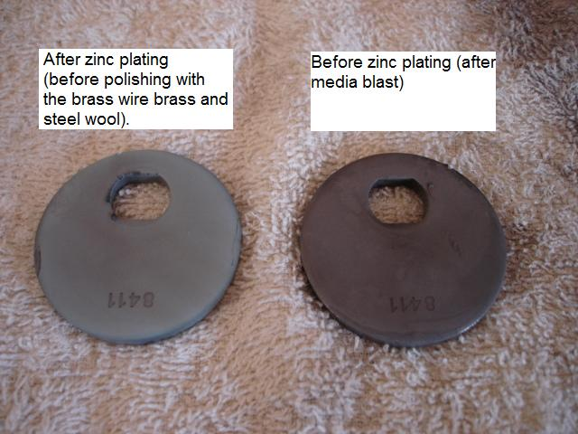 Zinc Plating with Yellow Chromate Conversion - How to