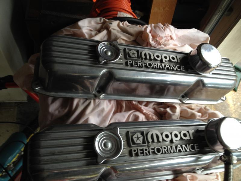 What Is Mopar >> SOLD - Mopar Performance cast aluminum valve covers big block 440 400 383   For B Bodies Only ...