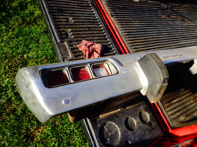 For Sale  Sat  Rear Bumper Complete