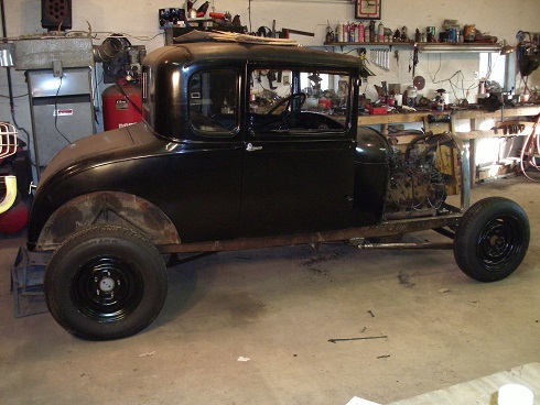 sold sell or trade 1929 ford model a coupe rod project for b bodies only classic mopar forum. Black Bedroom Furniture Sets. Home Design Ideas