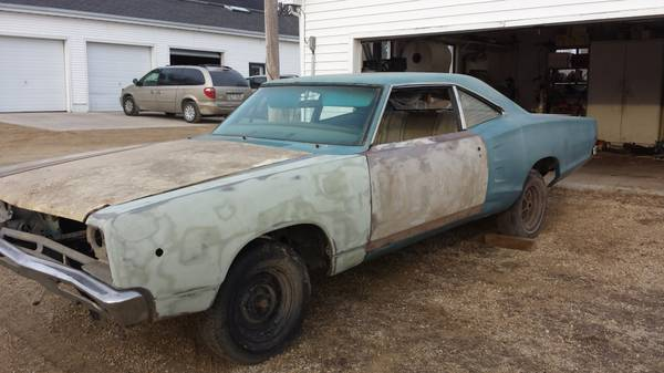 For Sale Craigslist 1968 Dodge Superbee 3400 For B