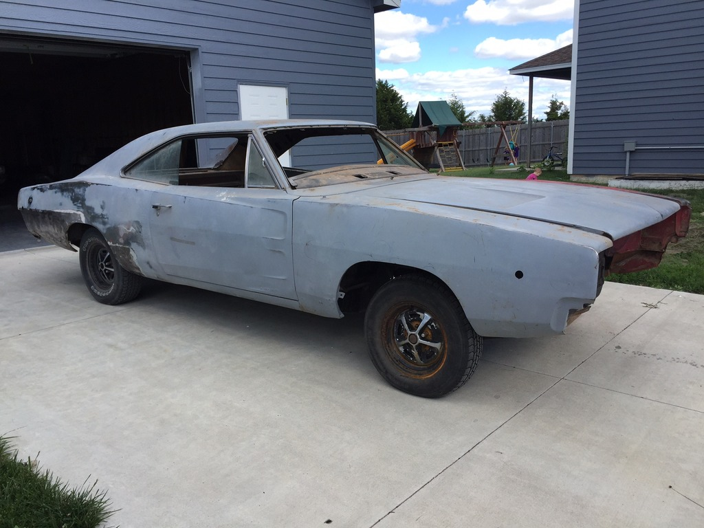 SOLD - Solid 1968 Charger RT roller | For B Bodies Only Classic ...