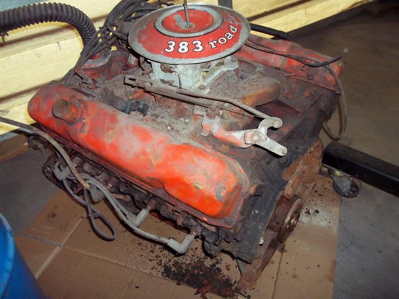 Rebuilt Cars For Sale >> FOR SALE - 1969 RoadRunner Complete 383 Engine   For B Bodies Only Classic Mopar Forum