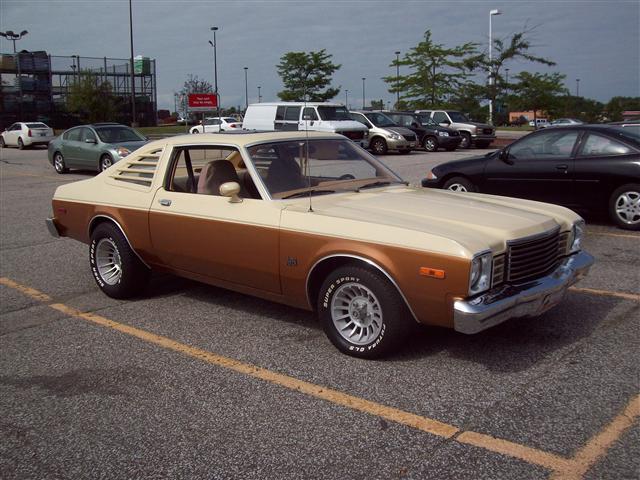 1979 Dodge Aspen Two Door Built 318 Very Sharp Car
