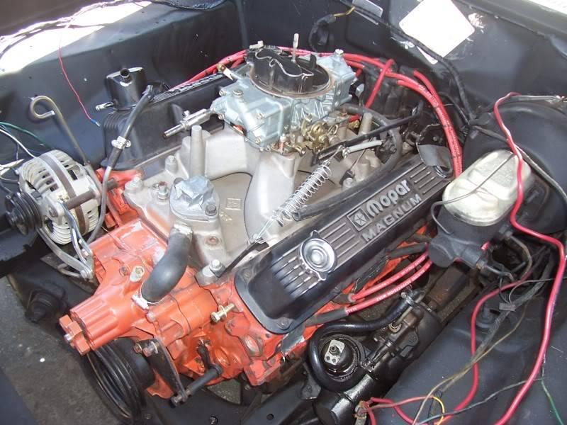 SOLD - Mopar Performance 360hp Magnum crate engine | For B