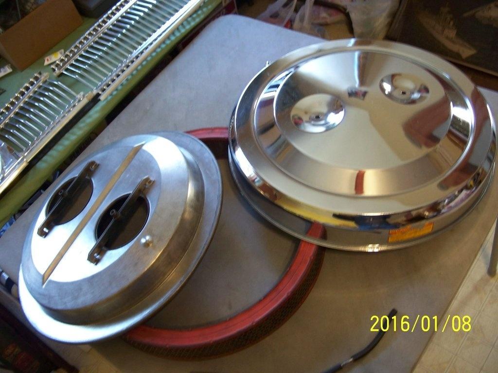 Hemi Air Cleaner : For sale hemi dual quad air cleaner b bodies