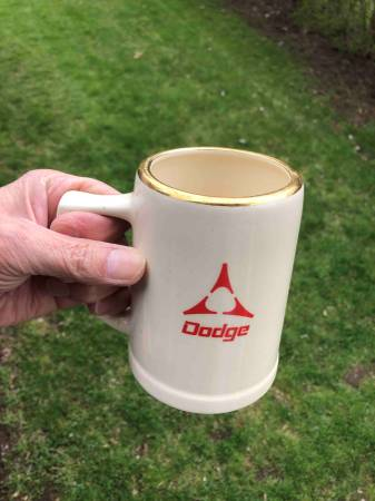 1960s vintage dodge ceramic mug.jpg