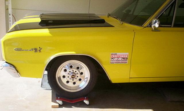 1966 Coronet 500 - on wheel dollies - Nov 2008 #2.jpg