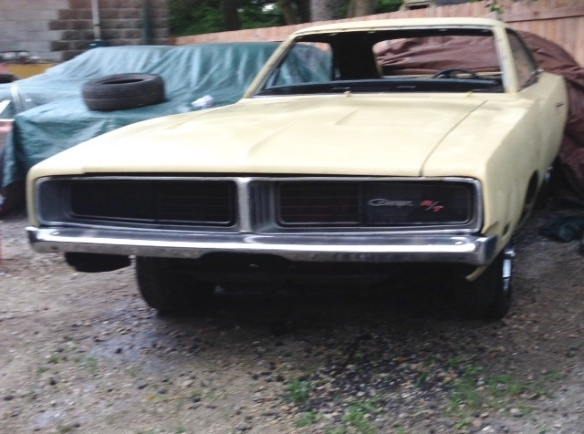 FOR SALE - 1969 Dodge Charger R/T 440 Auto - #'s Matching ...