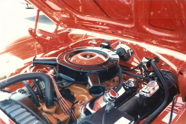 1970 Charger RiT - engine compartment after restoration #1.jpg