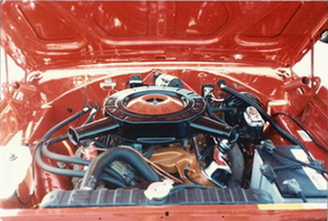 1970 Charger RiT - engine compartment after restoration #2.jpg