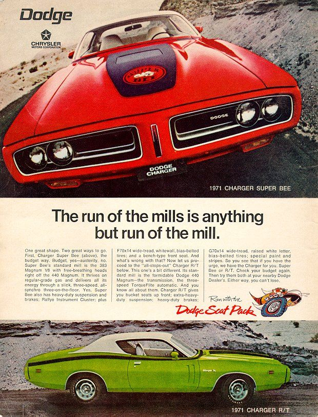 1971 74 Dodge Chrysler Plymouth History For B Bodies