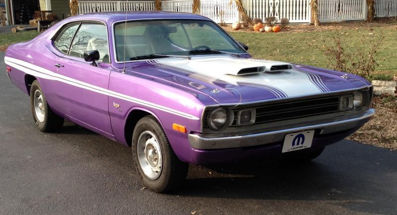 SOLD - 1972 Dodge Demon- Built 440 Engine - Auto - Plum ...
