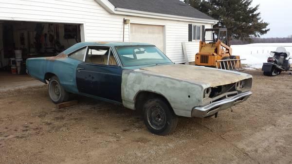 FOR SALE - Craigslist    1968 Dodge Superbee $3400 | For B