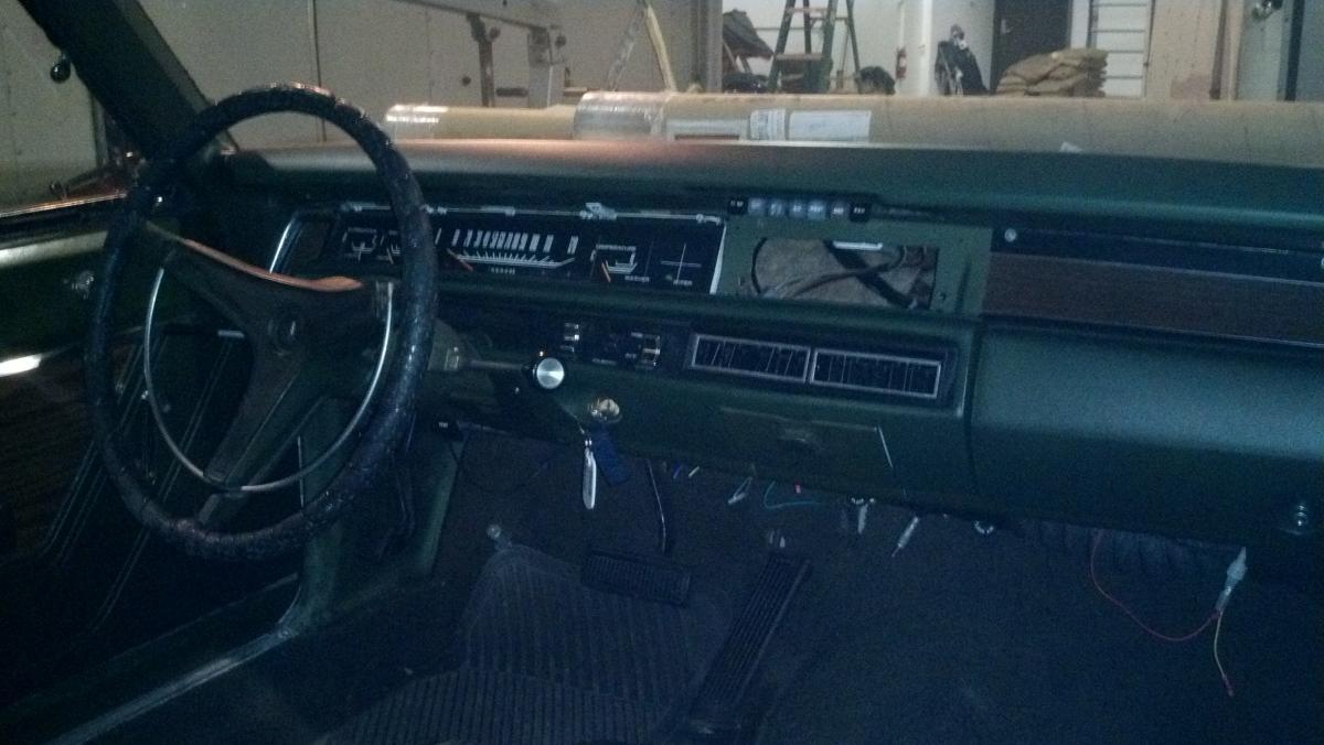 1969 Sport Satellite Gtx Dash Assembly