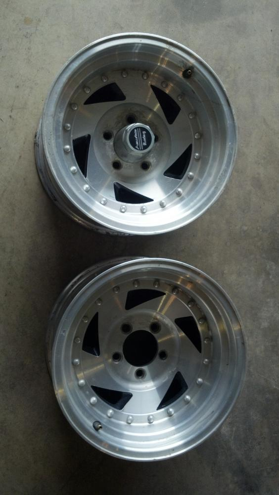 Cars For Less >> SOLD - American racing 15x8 aluminum wheels | For B Bodies ...