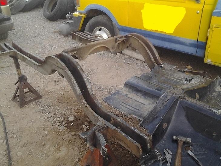 For Sale 1971 74 B Body Rear Frame Rails 1973 74 B