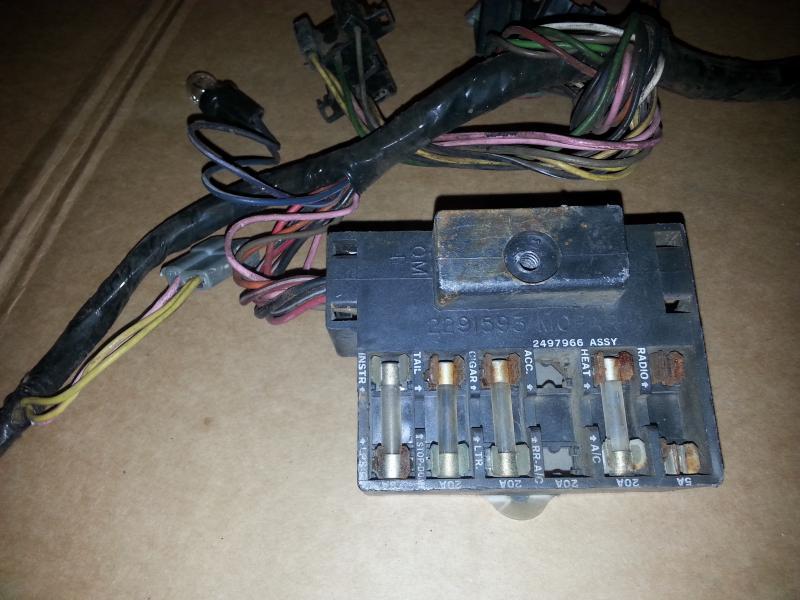 1982 nighthawk fuse box wire connectors for sale - 67 belvedere fuse box, bulkhead connector and ... 1982 f150 fuse box
