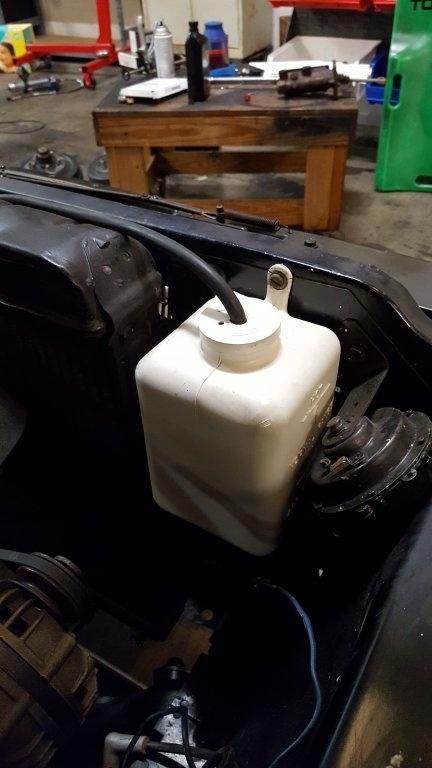 2017 Dodge Charger >> After market radiator overflow reservoir | For B Bodies ...