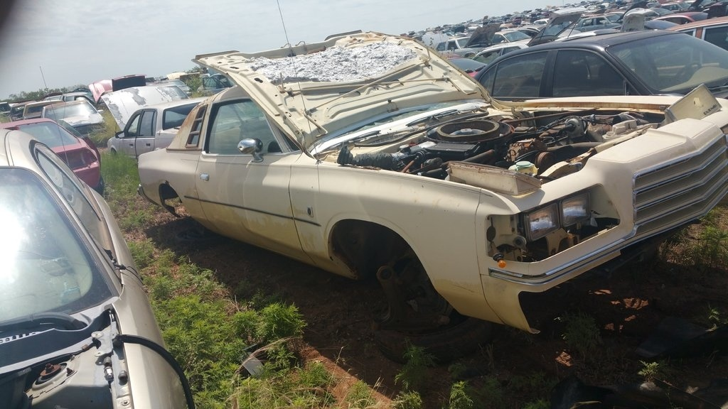 Solid, straight 78-79 magnum in west texas junkyard | For B Bodies